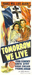 <i>Tomorrow We Live</i> (1943 film) 1943 film by George King