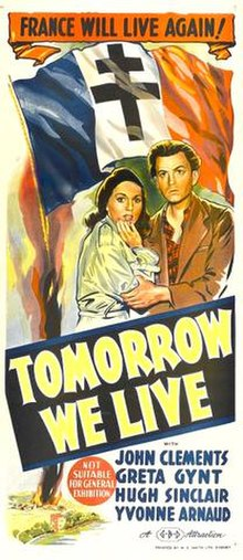 Tomorrow We Live (1943) poster.jpg