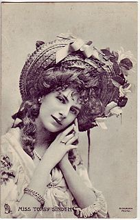 Topsy Sinden Dancer, stage actor and singer