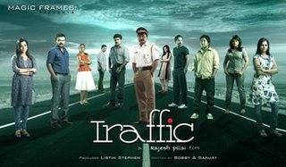 <i>Traffic</i> (2011 film) 2011 Malayalam thriller film directed by Rajesh Pillai