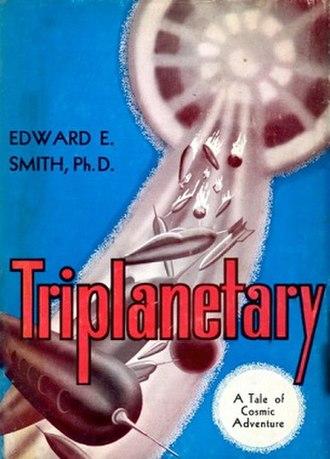 Lensman series - Image: Triplanetary