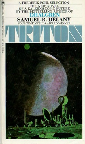 Triton (novel) - Cover of the first edition