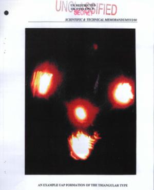 Black triangle (UFO) - Image: Uapplasma