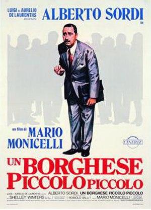 An Average Little Man - Italian film poster
