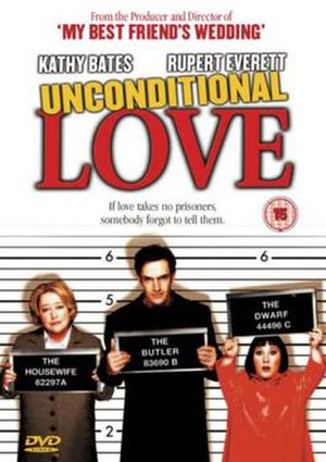 Unconditional Love (film) - Image: Unconditional Love dvd cover