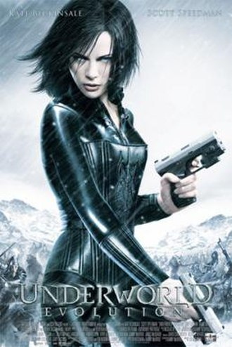 Underworld: Evolution - Theatrical release poster