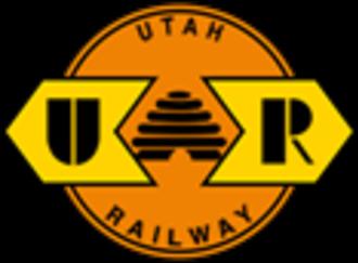 Utah Railway - Image: Utah Railway logo