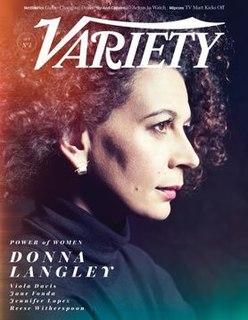 <i>Variety</i> (magazine) American weekly entertainment trade magazine owned by Penske Media Corporation