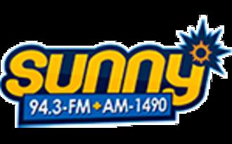 WAZZ - Image: WAZZ Sunny 94.3 1490 logo