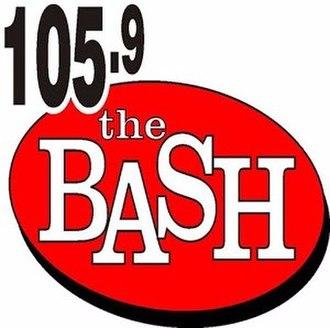 WJOT - Image: WJOT 105.9the BASH logo
