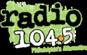 WRFF - Image: WRFF radio 104.5 logo