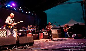 Widespread Panic videography - Widespread Panic performing at Forecastle Festival, July 2009.