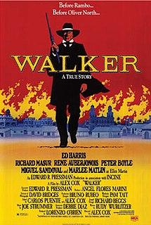 <i>Walker</i> (film) 1987 film by Alex Cox