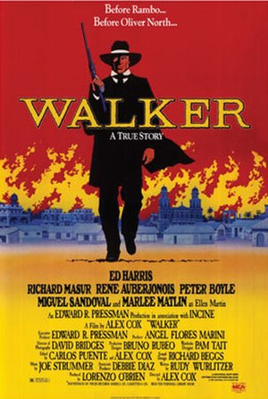Walker (film) - Theatrical release poster