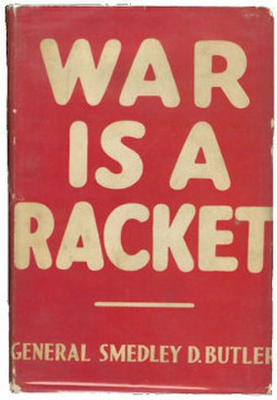 Picture of a book: War Is A Racket