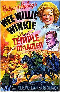 <i>Wee Willie Winkie</i> (film) 1937 film by John Ford