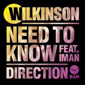 Need to Know (song) - Image: Wilkinson Need to Know Direction
