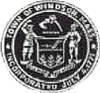 Official seal of Windsor, Massachusetts