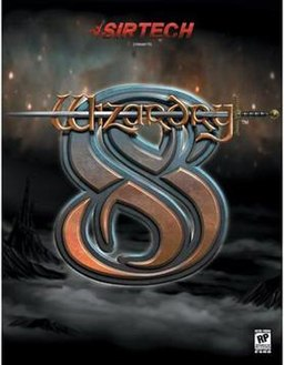 Box cover of Wizardry 8