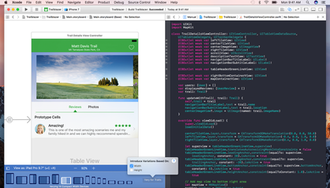 Xcode - Image: Xcode screenshot