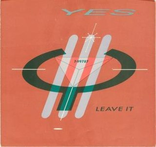 Leave It 1983 single by Yes