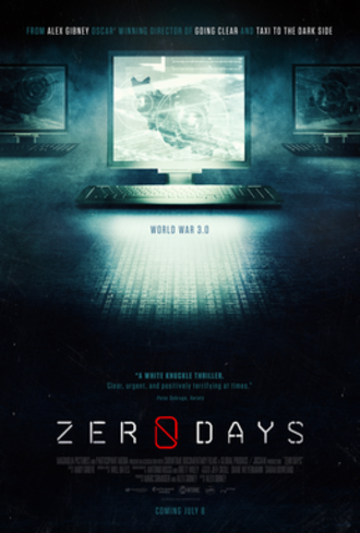 Zero Days - Theatrical release poster