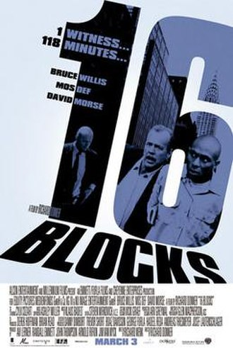 16 Blocks - Promotional movie poster