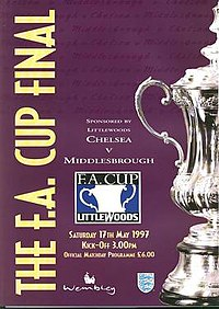 1997 FA Cup Final programme.jpg