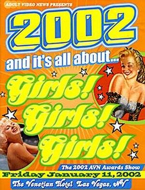 19th AVN Awards - 2002 AVN Awards Show Program cover