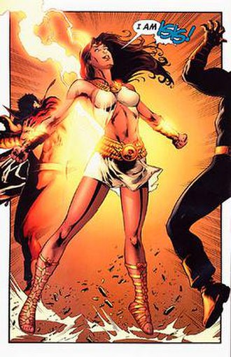 Isis (DC Comics) - Adrianna Tomaz as the second Isis as seen in 52 Week 12 (July 26, 2006)