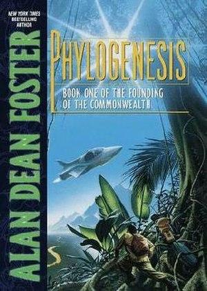 Phylogenesis (novel) - Image: ADF Phylogenesis hardcover