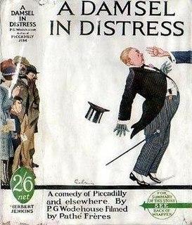 <i>A Damsel in Distress</i> (novel) 1919 novel by P.G. Wodehouse