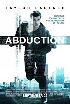 Abduction (2011 film) - Theatrical release poster