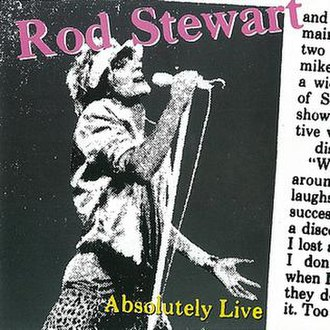 Absolutely Live (Rod Stewart album) - Image: Absolutely Live