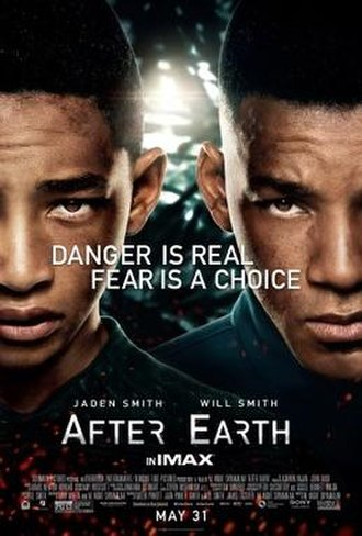 After Earth - Theatrical release poster