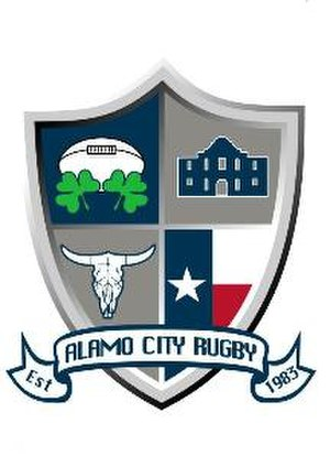 Alamo City Rugby Football Club - Image: Alamo City Rugby Crest Alamo