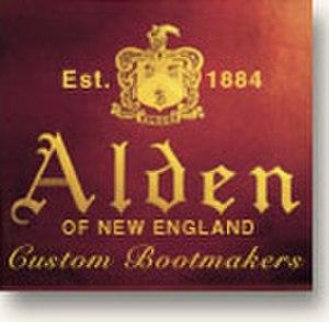Alden Shoe Company - Image: Alden logo