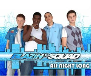All Night Long (Blazin' Squad song) - Image: Allnightlongblazin