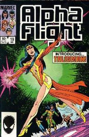 Talisman (Alpha Flight) - Image: Alpha Flight 19
