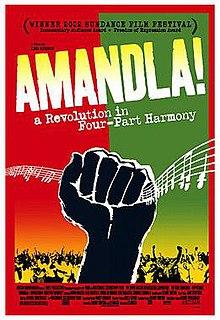 Amandla a revolution in four part harmony essay definition