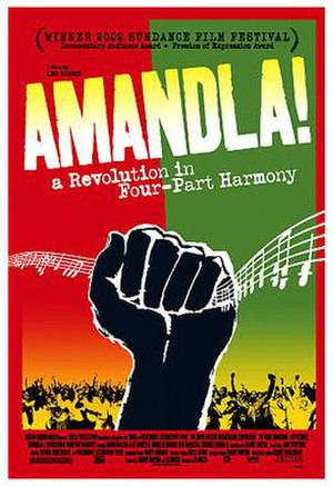 Amandla!: A Revolution in Four-Part Harmony - Official movie poster