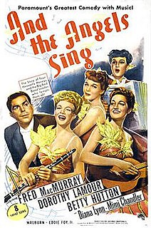 <i>And the Angels Sing</i> 1944 film by George Marshall