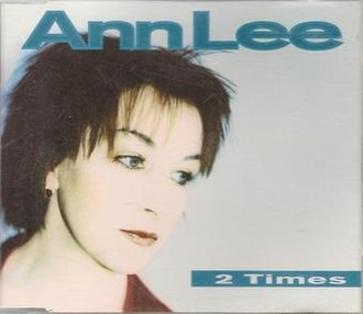 2 Times - Image: Ann Lee 2 Times single cover