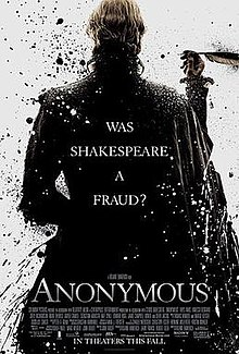 Anonymous film poster.  Photo: Wikipedia