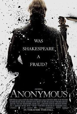 Anonymous 2011 film poster
