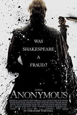 Anonymous (film) - Theatrical release poster