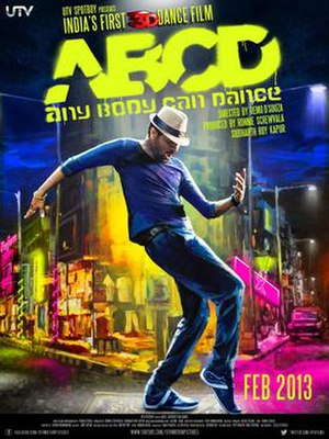 ABCD: Any Body Can Dance - Theatrical release poster