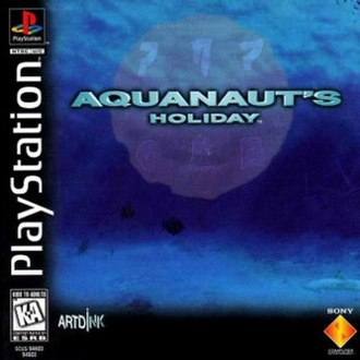 Aquanaut's Holiday - North American cover art