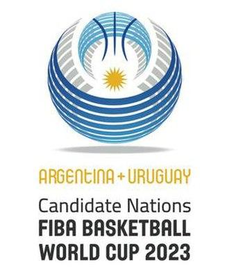 Argentina–Uruguay bid for the 2023 FIBA Basketball World Cup - Bidding Logo