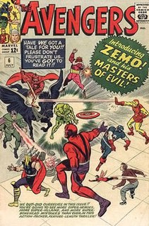 Masters of Evil Fictional team from Marvel Comics